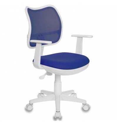 Кресло Бюрократ CH-W797/BL/TW-10 для оператора детское, цвет синий
