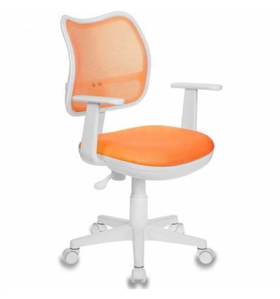 Кресло Бюрократ CH-W797/OR/TW-96-1 для оператора детское, цвет оранжевый