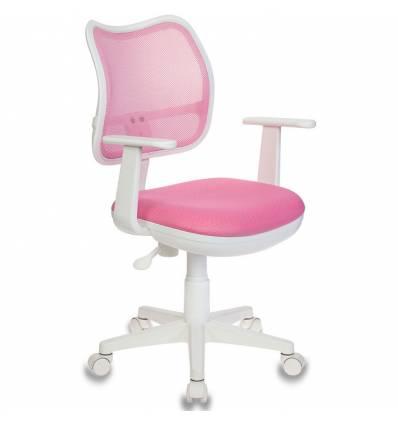 Кресло Бюрократ CH-W797/PK/TW-13A для оператора детское, цвет розовый