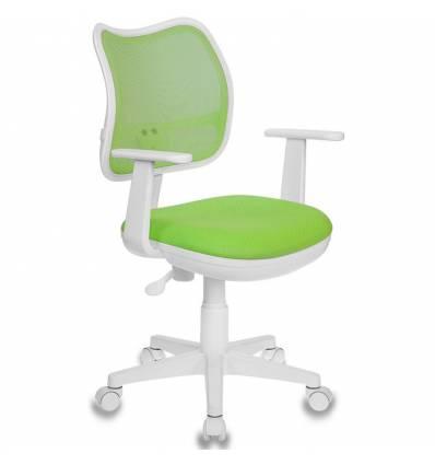Кресло Бюрократ CH-W797/SD/TW-18 для оператора детское, цвет салатовый