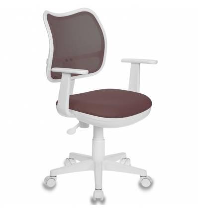 Кресло Бюрократ CH-W797/BR/TW-14C для оператора детское, цвет коричневый