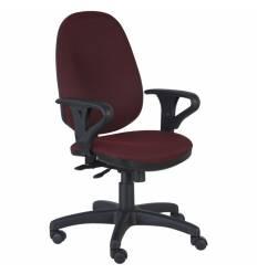 Кресло Бюрократ T-612AXSN/CH для оператора, цвет бордовый