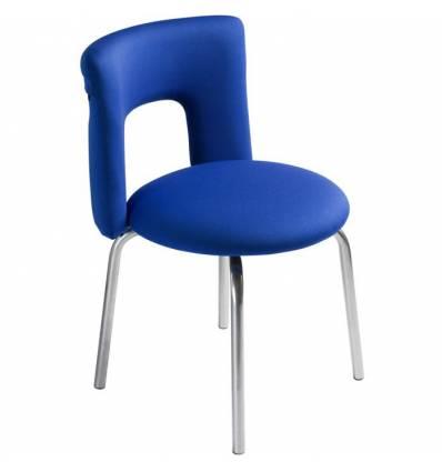 Стул Бюрократ KF-1/INDIGO26-21, цвет синий