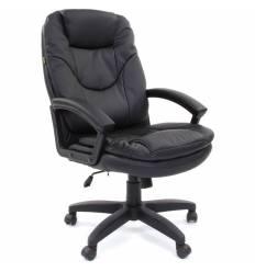 Кресло CHAIRMAN 668 LT/black для руководителя, экокожа, цвет черный