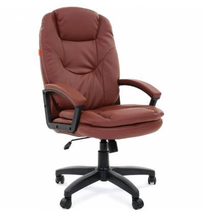 Кресло CHAIRMAN 668 LT для руководителя, цвет коричневый