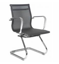 Кресло Бюрократ CH-993-LOW-V/M01 для посетителя, цвет черный