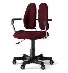 Кресло DUOREST STANDART DR-260 для персонала, ортопедическое, цвет бордовый