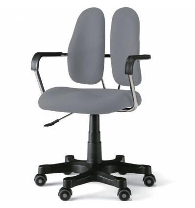 Кресло DUOREST STANDART DR-260 для персонала, ортопедическое, цвет серый