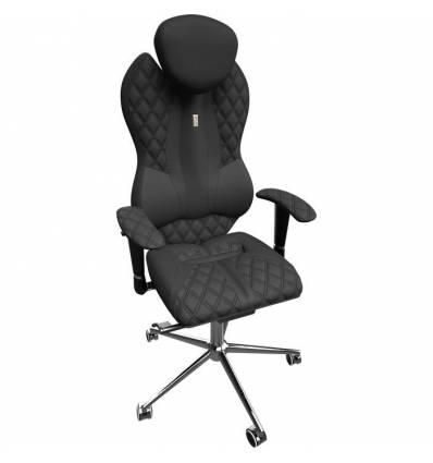 Кресло Kulik System Grande для руководителя, ортопедическое, цвет черный