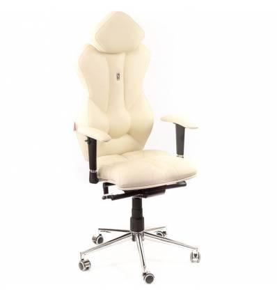 Кресло Kulik-System Royal для руководителя, ортопедическое, цвет бежевый