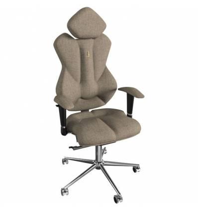 Кресло Kulik System Royal для руководителя, ортопедическое, цвет карамель