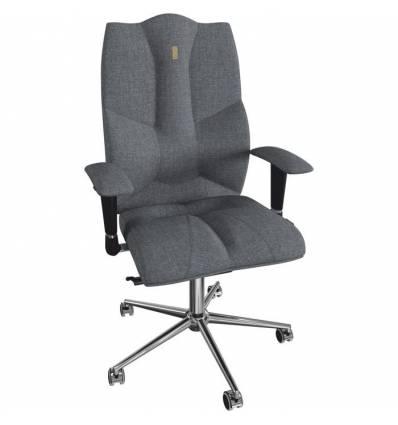 Кресло Kulik System Business для руководителя, ортопедическое, цвет серый