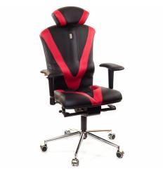 Кресло Kulik-System Victory для оператора, ортопедическое, цвет черно-красный