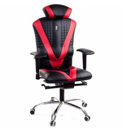 Кресло Kulik System Victory Quatro для оператора, ортопедическое, цвет черно-красный