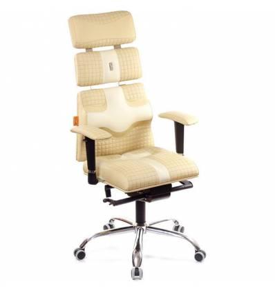 Кресло Kulik-System Pyramid Quatro для оператора, ортопедическое, цвет бежево-песочный