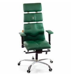 Кресло Kulik-System Pyramid для оператора, ортопедическое, цвет зеленый
