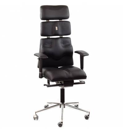 Кресло Kulik-System Pyramid для оператора, ортопедическое, цвет черный