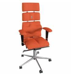 Кресло Kulik System Pyramid для оператора, ортопедическое, цвет оранжевый