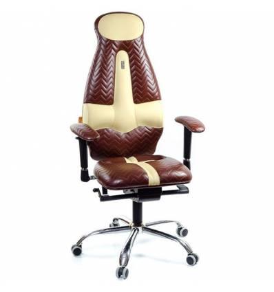 Кресло Kulik System Galaxy Zeta для оператора, ортопедическое, цвет коричнево-песочный