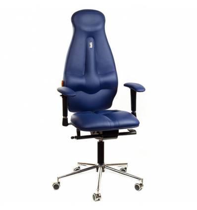 Кресло Kulik-System Galaxy для оператора, ортопедическое, цвет синий