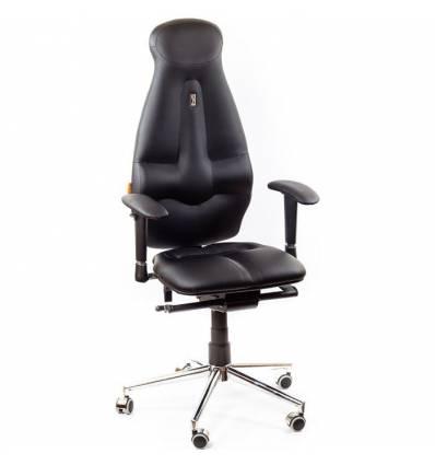 Кресло Kulik-System Galaxy для оператора, ортопедическое, цвет черный