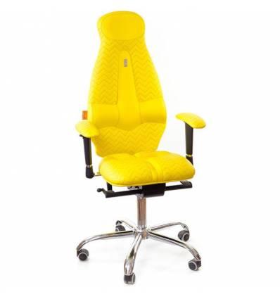 Кресло Kulik System Galaxy Zeta для оператора, ортопедическое, цвет желтый