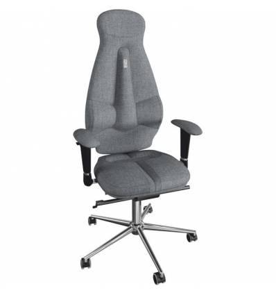 Кресло Kulik System Galaxy для оператора, ортопедическое, цвет серый