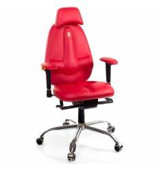 Кресло Kulik System Classic maxi для оператора, ортопедическое, с подголовником, цвет красный