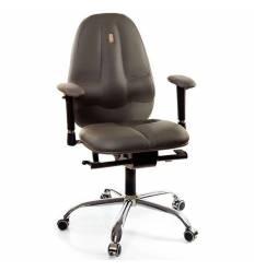 Кресло Kulik System Classic maxi для оператора, ортопедическое, цвет серый
