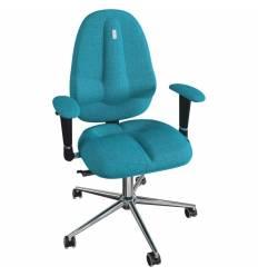 Кресло Kulik System Classic maxi для оператора, ортопедическое, цвет бирюзовый