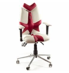 Кресло Kulik System Fly  детское 8-14 лет, ортопедическое, цвет бело-красный