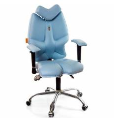 Кресло Kulik System Fly детское 8-14 лет, ортопедическое, цвет голубой