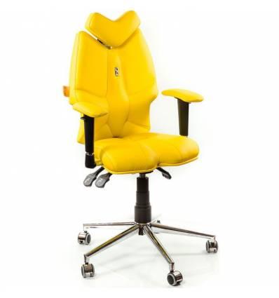Кресло Kulik System Fly детское 8-14 лет, ортопедическое, цвет желтый