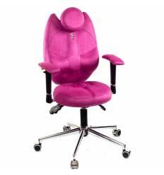 Кресло Kulik System Trio детское 6-12 лет, ортопедическое, цвет розовый