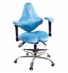 Кресло Kulik System Kids детское 4-8 лет, ортопедическое, цвет голубой