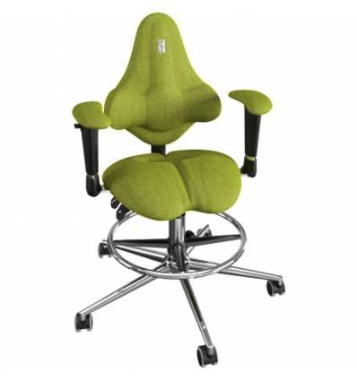 Кресло Kulik System Kids детское 4-8 лет, ортопедическое, цвет оливковый
