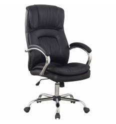 Кресло College BX-3001-1 для руководителя, цвет черный