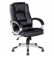 Кресло College BX-3177/Black для руководителя, цвет черный