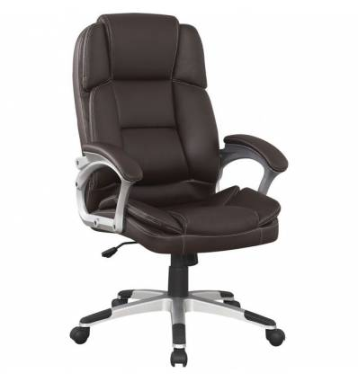 Кресло College BX-3323/Brown для руководителя, цвет коричневый