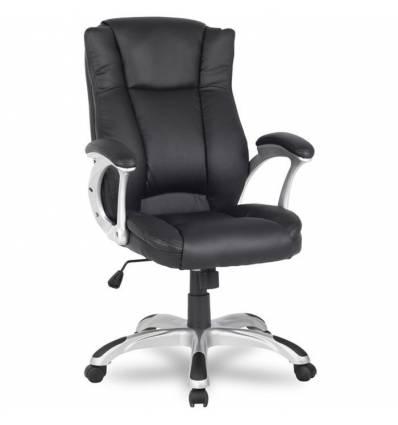 Кресло College H-0631-1/Black для руководителя, цвет черный
