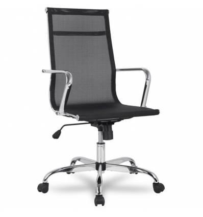 Кресло College H-966F-1/Black для руководителя, цвет черный