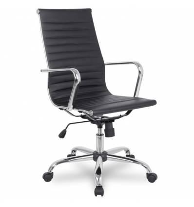 Кресло College H-966L-1/Black для руководителя, цвет черный
