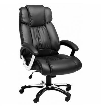 Кресло College H-8766L-1/Black для руководителя, цвет черный