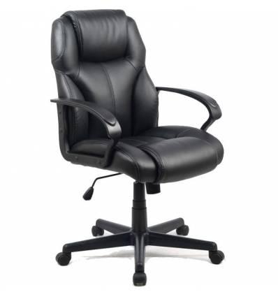 Кресло College HLC-0601/Black для руководителя, цвет черный