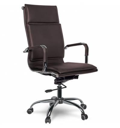 Кресло College XH-635/Brown для руководителя, цвет коричневый