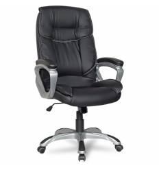 Кресло College XH-2002/Black для руководителя, цвет черный