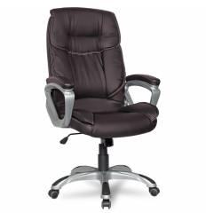 Кресло College XH-2002/Brown для руководителя, цвет коричневый