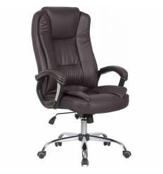 Кресло College XH-2222/Brown для руководителя, цвет коричневый