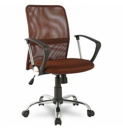 Кресло College H-8078F-5/Brown для оператора, цвет коричневый