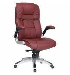 Кресло Good-Kresla Nickolas Burgundy для руководителя, цвет бордовый